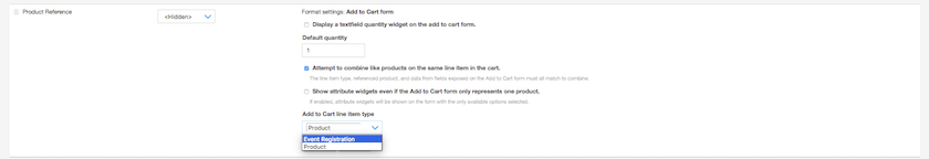 Custom Products: Configure Custom Line Item Add to Cart Line Item Settings