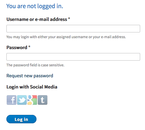Hybrid Auth Social Login module for Drupal - Facebook