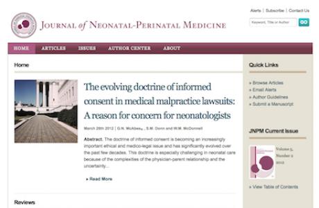 JNPM Homepage Design in Drupal